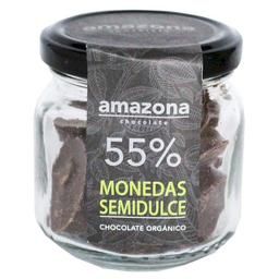 Amazona Monedas de Chocolate Orgánico 55%