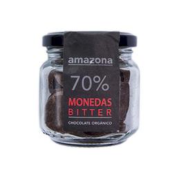Amazona Monedas de Chocolate Orgánico 70%