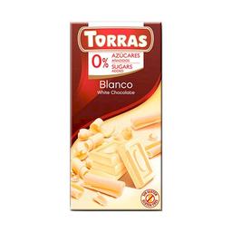 Torras Chocolate Blanco 0% Azúcares Añadidos