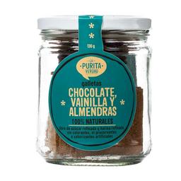 La Purita Verdad Galletas de Chocolate, Vainilla & Almendras