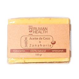 Peruvian Health Jabón de Aceite de Coco y Zanahoria