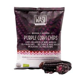 Wasi Snack Organics Chips de Maíz Morado