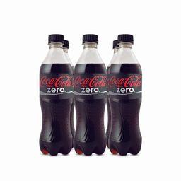 Gaseo Coca Cola Zero 6X500Ml
