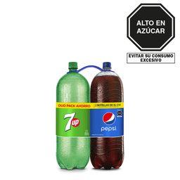 Gaseosa Pepsi+Seven Up 2X3Lt