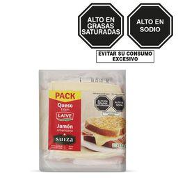 Pack Queso Edam+Jamon Ameri 372Gr