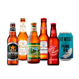 Beerpack Resto del Mundo