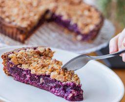 Tarta de Berries Vegana
