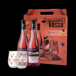 Pasaporte Rosso Gran Rosé O Borgoña