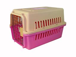 Belén Transportador Kennel Para Mascotas Mini L48 Rosado