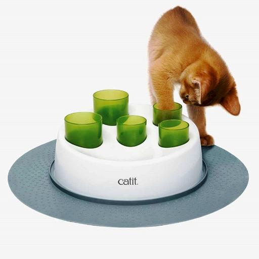 Catit Comedero Interactivo Para Gatos Digger
