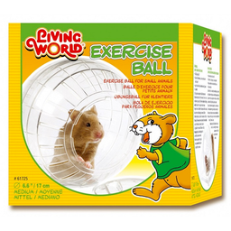 Bola o esfera de ejercicios para pequeños roedores Parantes-12cm