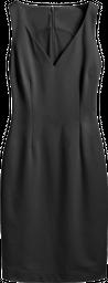 vestido corto simple