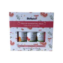 Be Natu Aceites Esenciales Naranja-Toronja-Bergamota