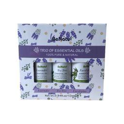 Be Natu Aceites Esenciales Lavanda-Eucalipto-Arbol Te