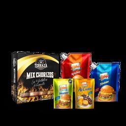 Combo Mix Chorizo + Salsas