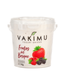 Yogurt Griego Frutos del Bosque Vakimu 1 kg
