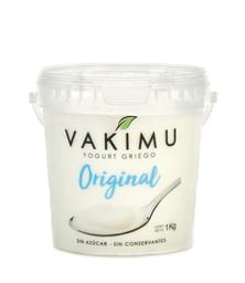 Yogurt Griego Original Vakimu 1 kg