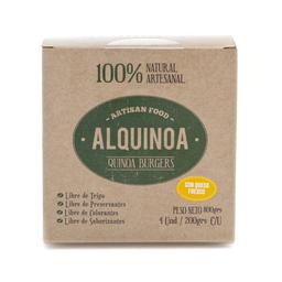Quinoa Burgers con queso fresco Alquinoa 4 unidades