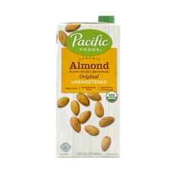 Pacific Foods Bebida de Almendras Orgánica Sin Azúcar