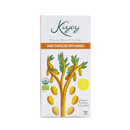 Kuyay Chocolate Dark 70% Con Mango