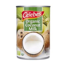 Leche de coco orgánico Celebes 400 ml
