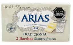 Mantequilla sin sal Arias 125 g