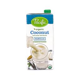 Pacific Foods Leche De Coco Orgánica Vainilla Sin Azúcar