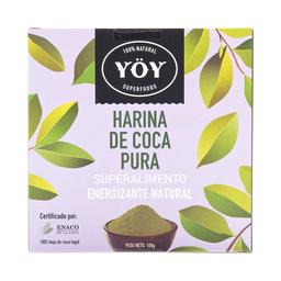Yoy Superfoods Harina de Hojas de Coca