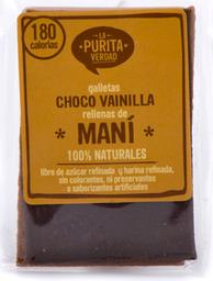 La Purita Verdad Galletas Chocovainilla Con Maní 100% Naturales