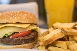 Burger Doble Cheese