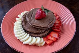 Panqueque de Cacao, Avena y Plátano