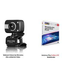 Webcam Alta Calidad + Antivirus Bitd 3A