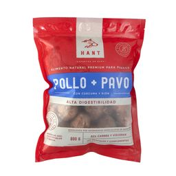 Alimento Hant Pollo-Pavo 800 Gr