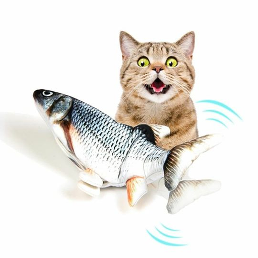 Tecnopets Pescado Interactivo The Flopping