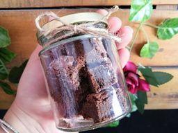 Frasco con Mini Brownies