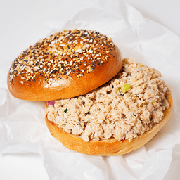 Bagel de Tuna Salad