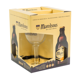 Giftpack Maredsous Original 330Ml