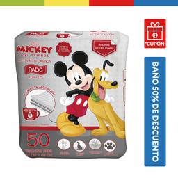 Pañales Para Perros Disney Carbon X 50 Pads (60 X 60 Cm)