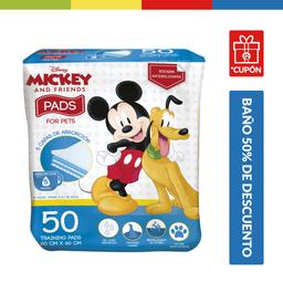 Pañales Para Perros Disney X 50 Pads (60 X 60 Cm)