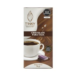 Chocolate para Taza TINKIY 100% cacao
