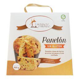 Panetón sin gluten 900gr tradici Molinos del Mundo
