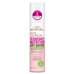 Be Natural Desenredante Antifrizz Bifásico Nutri Quinua 200ml