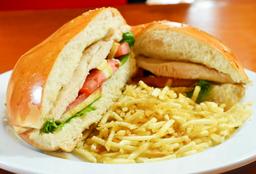 Sandwich De Filete De Pechuga De Pollo