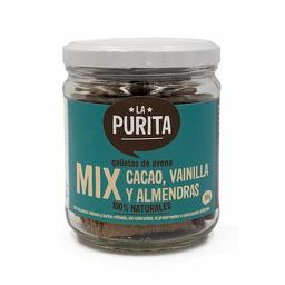 La Purita Galletas de Avena Cacao Vainilla y Almendras