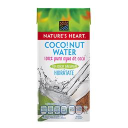 Natures Heart Agua de Coco Coconut Wáter