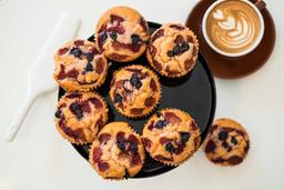 Muffins Frutos Rojos