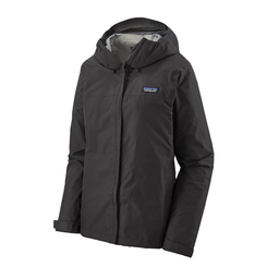 Patagonia Casaca Impermeable Mujer Torrentshell 3L Negro