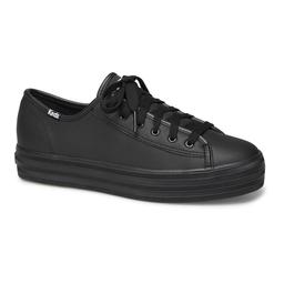 Keds Zapatilla Triple Kick Leather Black