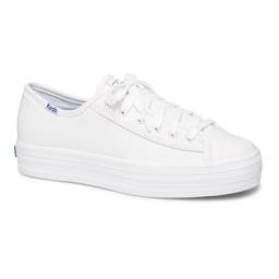 Keds Zapatilla Triple Kick Leather White