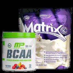 Matrix 5Lb + Bcaa 258G 30 Serv